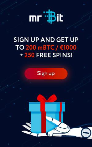 Получай приветственный бонус от Mr Bit Casino